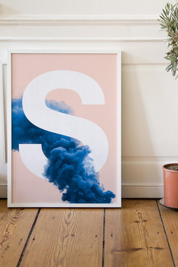 Smoke S #poster #typography