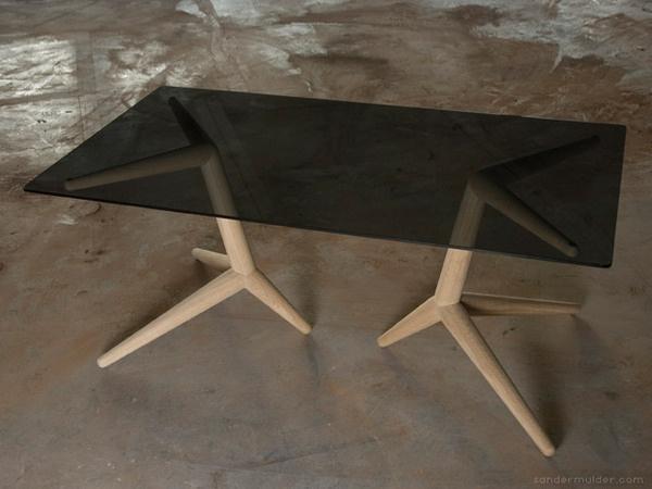 Crow Table by Sander Mulder #furniture #design #minimal