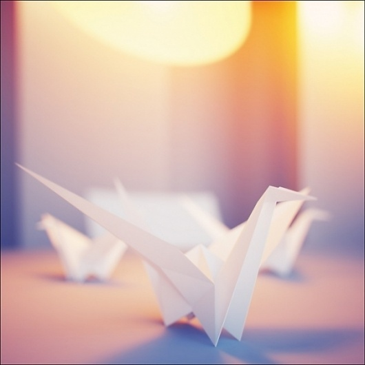 CGPortfolio - Denys Zhytnyk #inspire #render #colors #light #vray #art #origami #modelling #paper #shadow