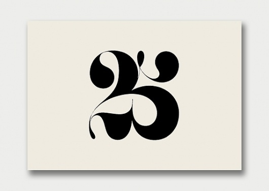 Logo Collection – Number Theory, 1960s/70s – Part 2 / Aqua-Velvet #creative #numericals #design #graphic #typography