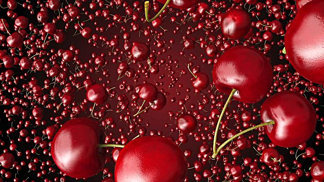 Image result for flying cherries