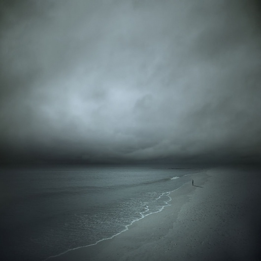 Staring At The Sea, Artwork by Philip Mckay #beach