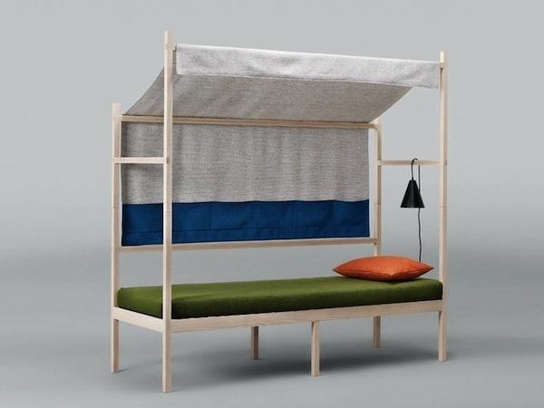 randomervae:kvadrat basecamp by atelier takagi #interior #design #bed