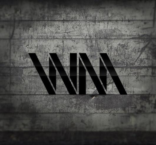 FONTS of CHAOS - Vhia #vhia #typography #fontsofchaos #black #texture #dark #typo #grey