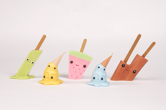 #icecream #candle #color #funny