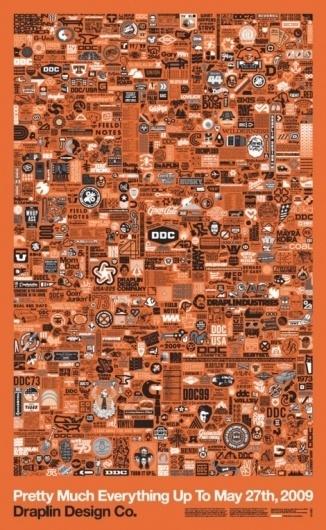 Draplin Design Co Poster by Aaron Draplin #poster