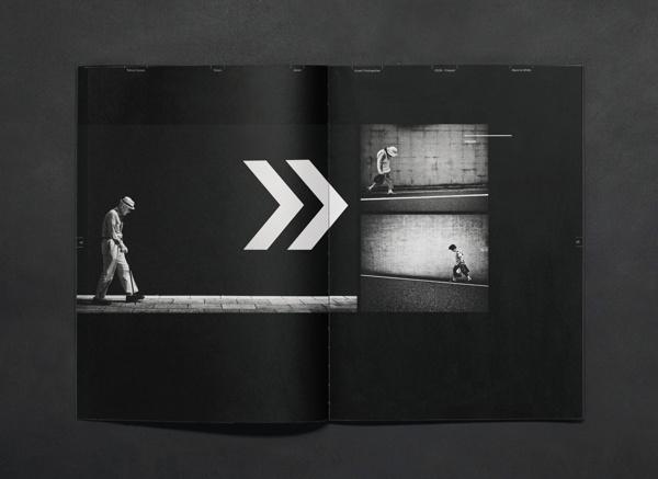 Parallax Magazine #spread #layout #enle #li