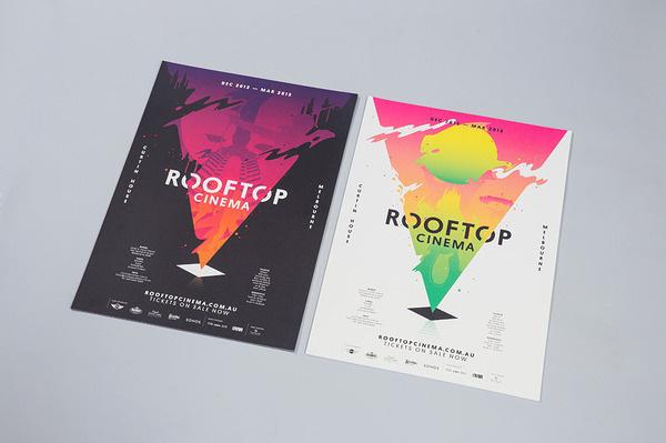 Rooftop Cinema SouthSouthWest #logo #branding
