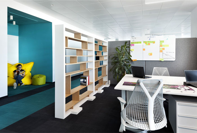 Paysafe Office Space in Sofia - #office, #interior,