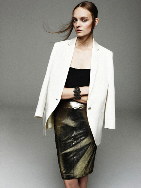 Nimue Smit for Apropos Journal Spring Summer Issue 2013 #fashion #model #photography #girl