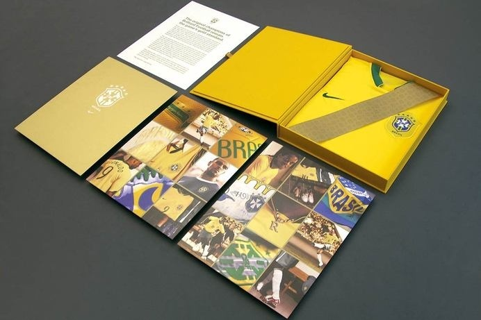 Hybrid Design : Projects : Print + Collateral : Nike National Team Limited Edition Packaging #catalog #container #print #box #letter #folder #brochure