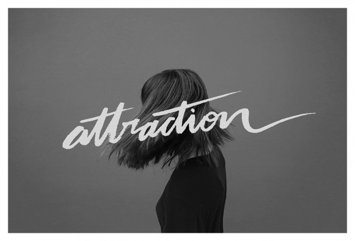 Attraction – Calligraphy & Lettering