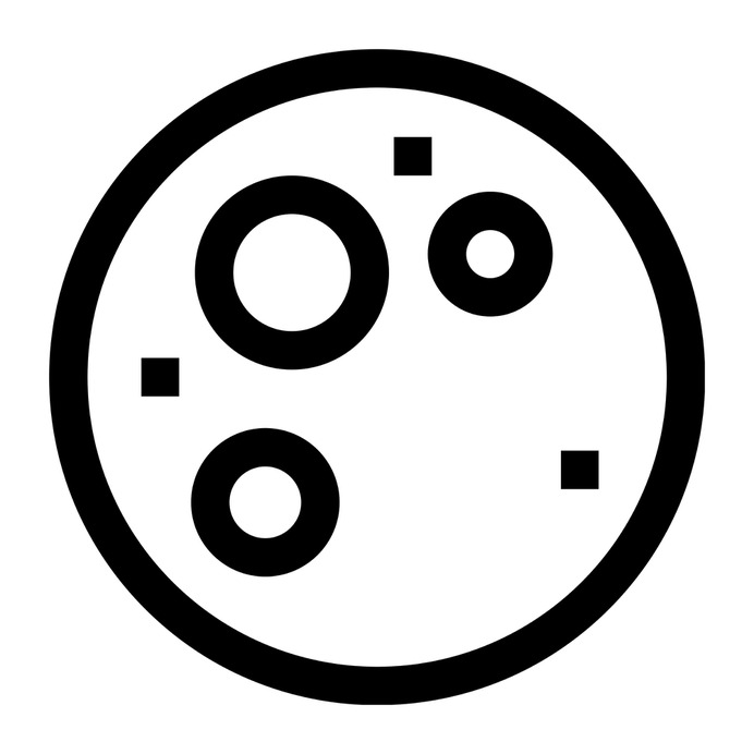 See more icon inspiration related to moon, moon phase, full moon, astronomy, meteorology and nature on Flaticon.