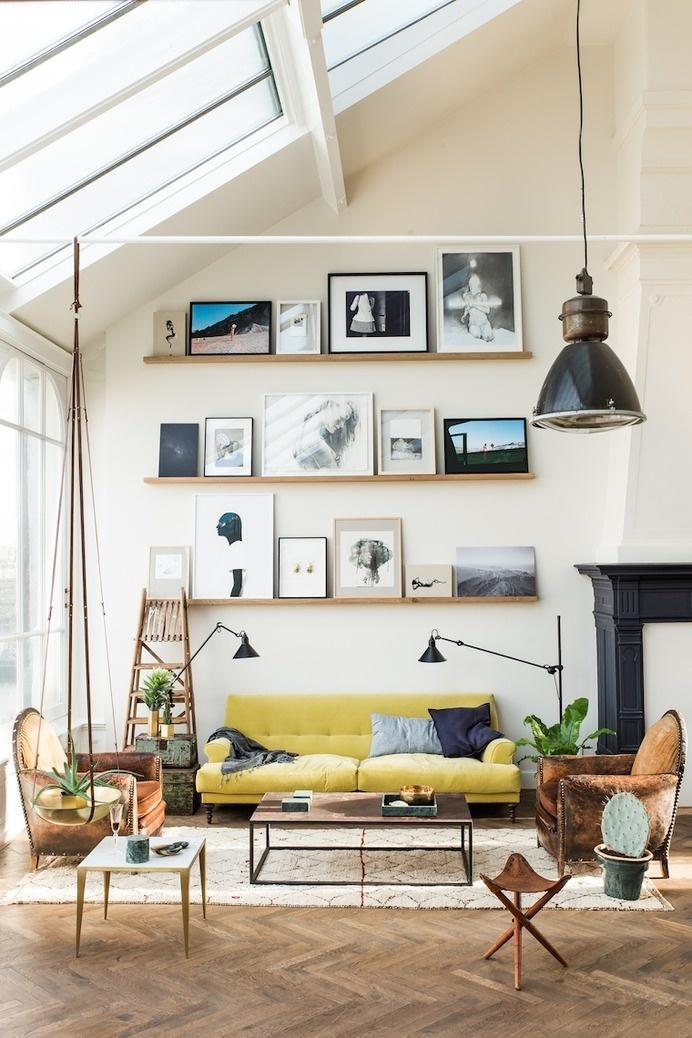 THE LOFT, A WHOLE SHOPPING EXPERIENCE #interior #sofa #vintage
