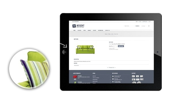 Mogent - Responsive Magento Template #responsive #store #theme #furniture #magento #mobile #template #ready