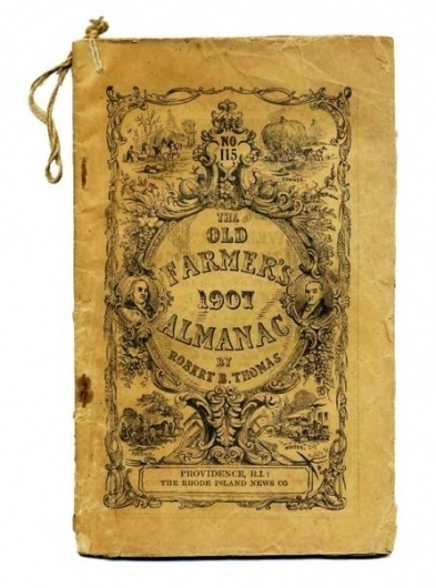 farmers-almanac-1907-446x600.jpg (JPEG Image, 446x600 pixels) #decorative #graphic #vintage