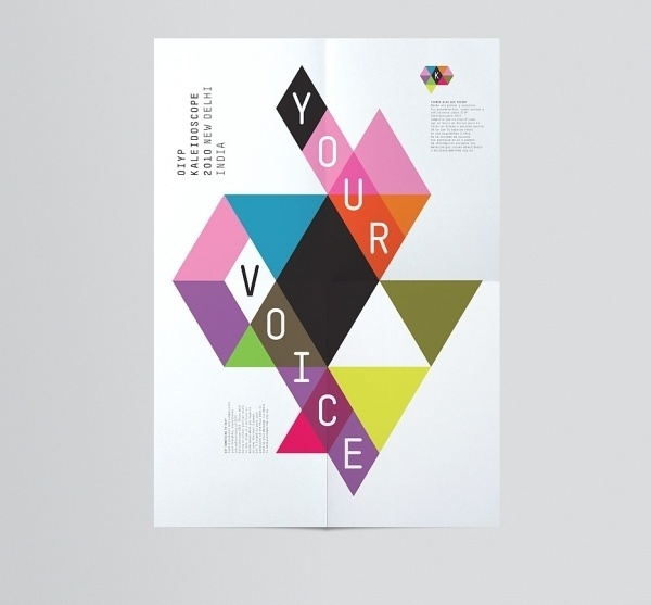 Toko-Scope.jpg (JPEG Image, 935×869 pixels) #triangle #geometric #poster #colour