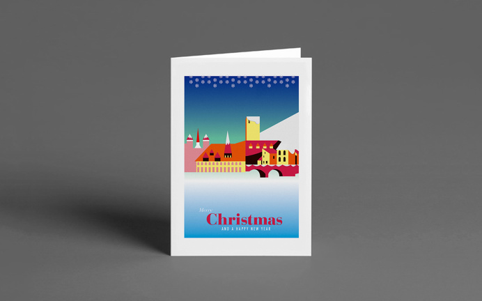 Christmas Cards by Nick Hill #Christmas #Illustration #Card