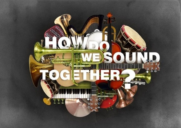 How Do We Sound Together? #guitar #trumpet #photo #violin #notes #sound #music #instruments #collage