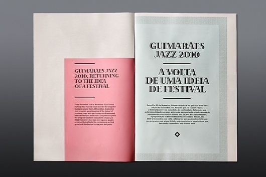 JAZZ JOURNAL 2010 on the Behance Network #design #book #typography