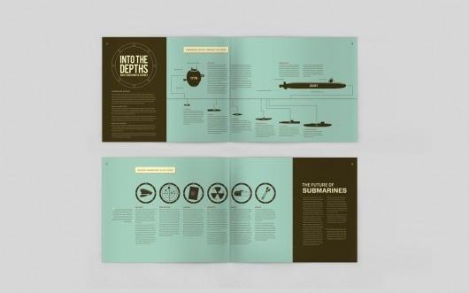 Mac Tyler #information #infograph #design #spread #info #sub #submarine #magazine