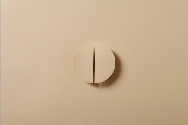 Paper & Shadow on the Behance Network #peach #origami #paper #shadow
