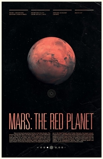 Under the Milky Way, Ross Berens's Portfolio #mars #print #poster
