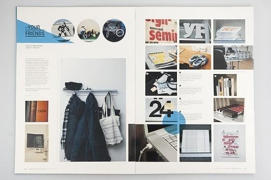 Everyday Magazine | Gridness #design #grid #photography #layout #magazine