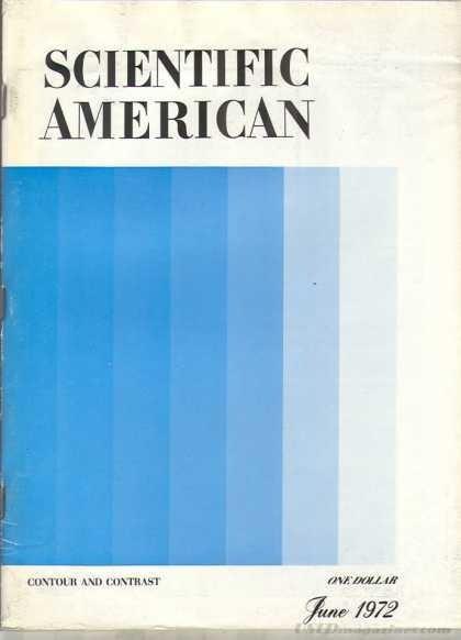 Scientific American June 1972 #american #scientific