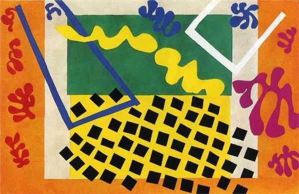Henri Matisse WikiPaintings.org #shapes #patterns #matisse #art