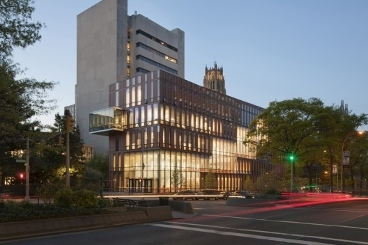The Diana Center at Barnard College / Weiss Manfredi | ArchDaily #architecture