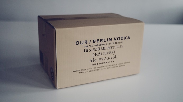 Our/Vodka on Packaging of the World - Creative Package Design Gallery #packaging #box #vodka #branding