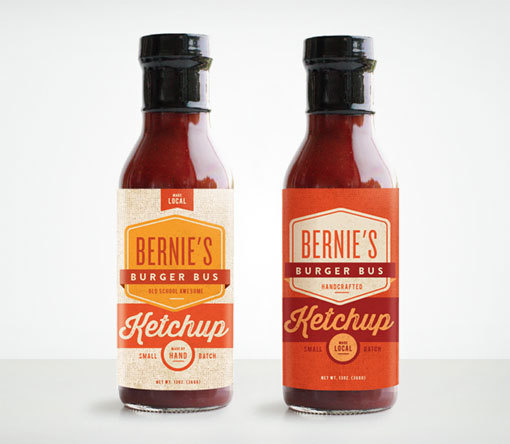 MakeMatter_Bernies_02 #packaging #ketchup