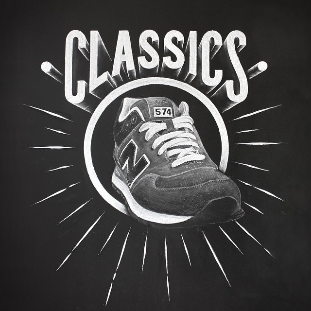 Classics by Anthony Hos #lettering #hand #3d #typography