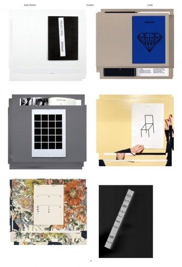 Aude Debout « Raphaël Bastide ▬ Work / Bench.li #print #design #graphic