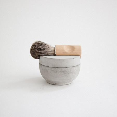 Mjölk Concrete Shaving Kit #concrete #brush #shaving #mjlk