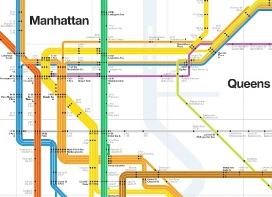 Vignelli « Human Resources™ #information #vignelli #map #subway #signage #nyc