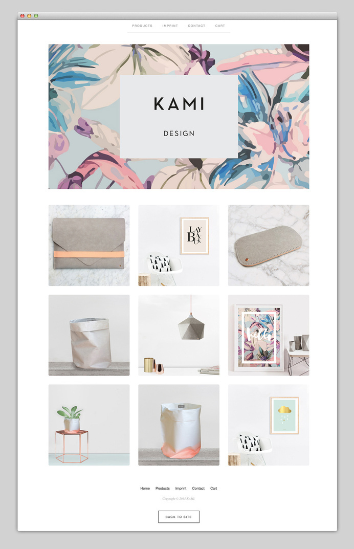 Design Products by KAMI via Websites We Love