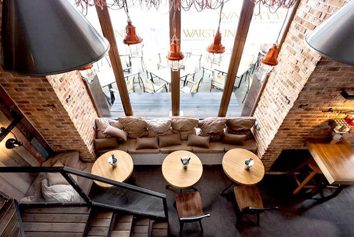 True Burger Restaurant by Kley Design Studio #interior #design #restaurant