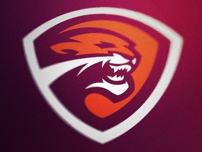 Dribbble - Cougar Logo by Fraser Davidson #badge #cougar #crest #shield #sports #logo