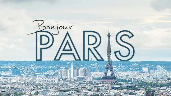 Bonjour Paris - This amazing time lapse video captures the magic of the city, as seen by a first time visitor. #Bonjour #Paris #timelapse