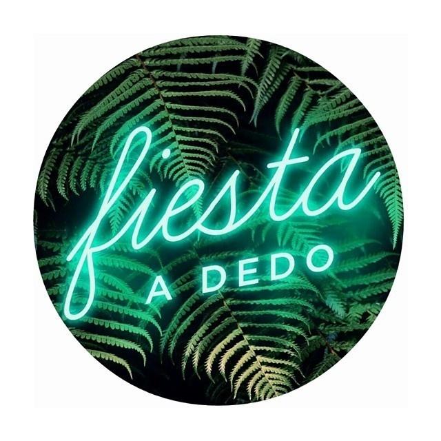 Fiesta a dedo #logo #brand #identity