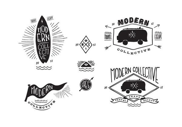 MODERN COLLECTIVE MOWGLI / Artsy Stuff by Adrian Morris #logo