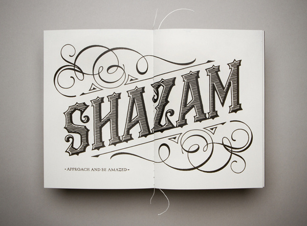 The Great Blandini Jefton Sungkar #shazam #print #magic #typography