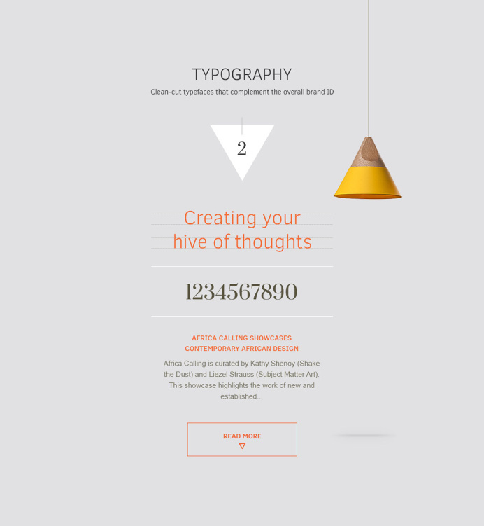 Typography Analysis #typography #layout #minimal #fresh