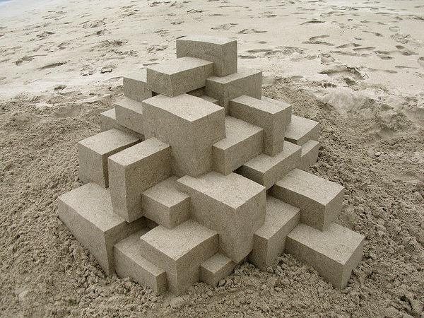 Geometric Sandcastles2 #sandcastle
