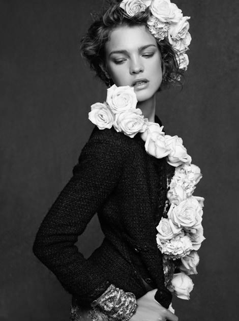The Little Black Jacket, Karl Lagerfeld #fashion #photography