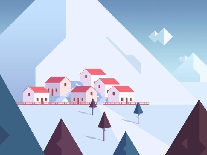 Village #illustration