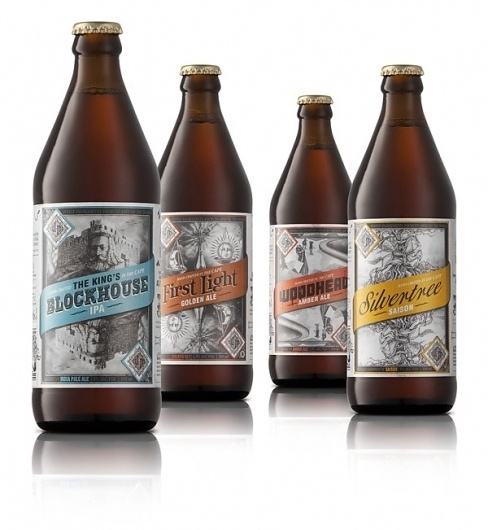 Devil's Peak on the Behance Network #beverage #bottle #drink #design #label #package