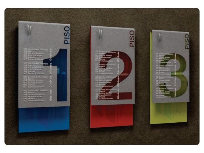 Signage by Andrea Arango at Coroflot.com #ss